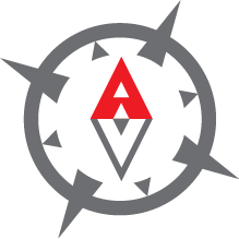 Aimless Vagabond Logo - Compass